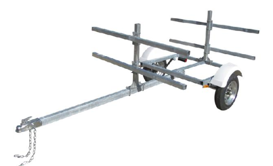 SUP BOARD TRAILER CARRIERS 4 OR 8 BOARDS